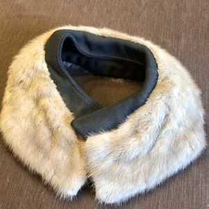 Vintage Estate Real Mink Fur Collar